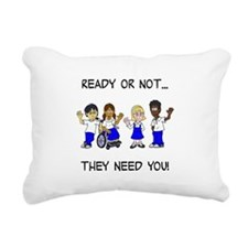 Cute Foster care Rectangular Canvas Pillow
