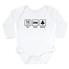 Eat Sleep Bridge Long Sleeve Infant Bodysuit