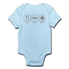 Eat Sleep Droid Infant Bodysuit