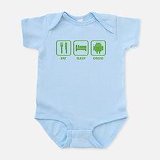 Eat Sleep Droid Infant Bodysuit