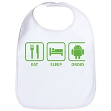 Eat Sleep Droid Bib