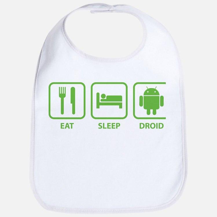 Eat Sleep Droid Bib