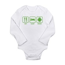 Eat Sleep Droid Baby Suit
