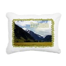 ...Austrian View... Rectangular Canvas Pillow