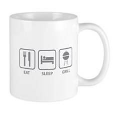 Eat Sleep Grill Mug