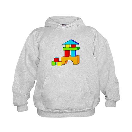 Building Blocks Kids Hoodie