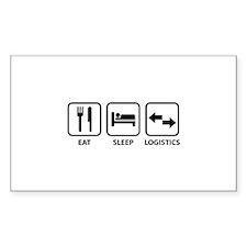 Eat Sleep Logistics Decal