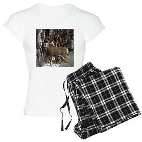 Buck deer Women's Light Pajamas