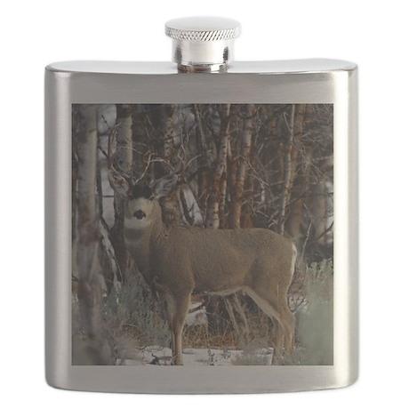 Buck deer Flask