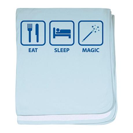Eat Sleep Magic baby blanket