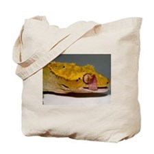 Crested Gecko Lick Tote Bag