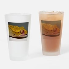 Crested Gecko Lick Drinking Glass