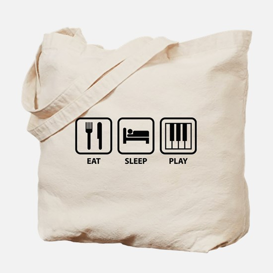 Eat Sleep Play Tote Bag