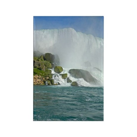 Bridal Falls Rectangle Magnet