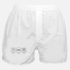 Eat Sleep Play Boxer Shorts