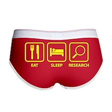 Eat Sleep Research Women's Boy Brief