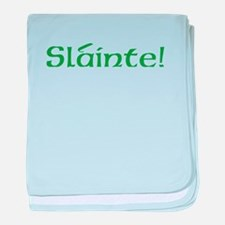 Slainte! (text only) baby blanket
