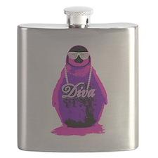 Diva Penguin Flask