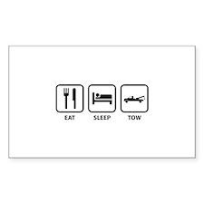 Eat Sleep Tow Decal