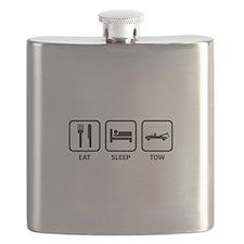Eat Sleep Tow Flask