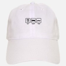 Eat Sleep Tow Baseball Baseball Cap