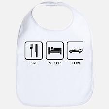 Eat Sleep Tow Bib