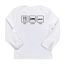 Eat Sleep Tow Long Sleeve Infant T-Shirt