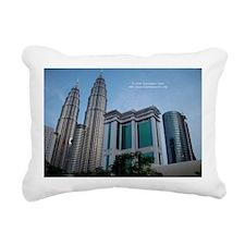 Malaysia 1 Rectangular Canvas Pillow