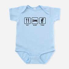 Eat Sleep Tuba Infant Bodysuit