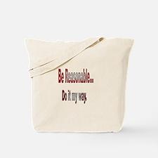 Do it my way Tote Bag