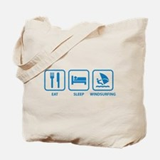 Eat Sleep Windsurfing Tote Bag