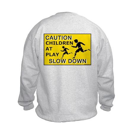 Caution Children At Play (AYS) Kids Sweatshirt