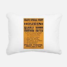 Houdini Magical Revue Rectangular Canvas Pillow