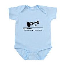 Ukulele Chords Loading Infant Bodysuit