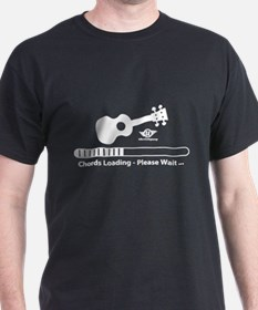 Ukulele Chords Loading T-Shirt