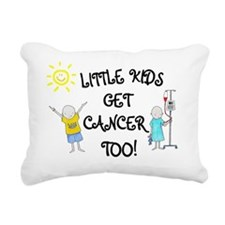 Juju's World Rectangular Canvas Pillow