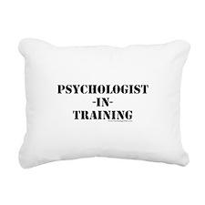 Psychologist In Training Rectangular Canvas Pillow
