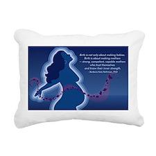 Birth Makes Mothers Rectangular Canvas Pillow