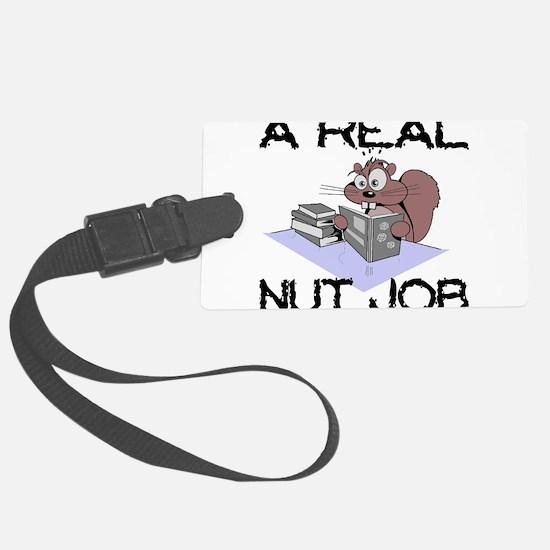 Nut Job Luggage Tag