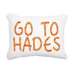 Go To Hades Rectangular Canvas Pillow