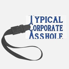 Corporate A Hole Luggage Tag