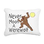 Moon A Werewolf Rectangular Canvas Pillow
