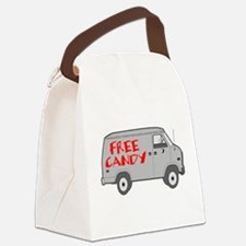 Free Candy Canvas Lunch Bag
