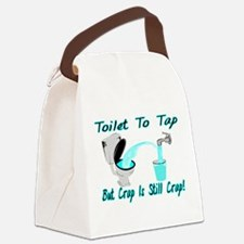 Toilet To Tap Canvas Lunch Bag