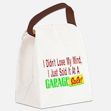Garage Sale Canvas Lunch Bag