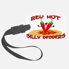 Red Hot Silly Peppers Luggage Tag