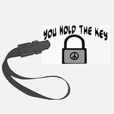 Key To Peace Luggage Tag