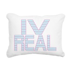 For Real LT Rectangular Canvas Pillow