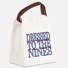 To The Nines Canvas Lunch Bag