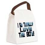 Love The 80's Canvas Lunch Bag